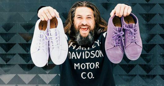 Jason Mamoa Vegan Sneakers Plants Digest Vegan News
