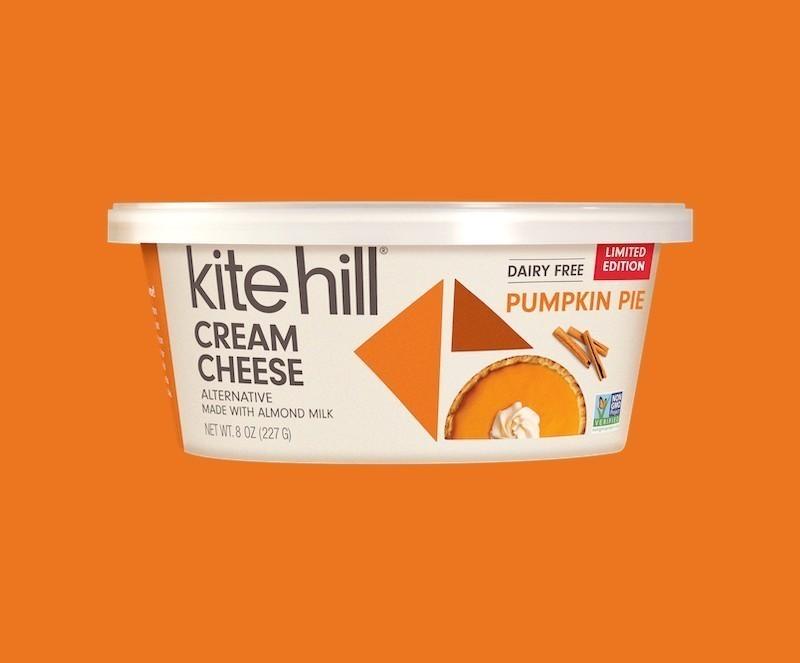 Kite Hill Pumpkin Pie Cream Cheese Alternative