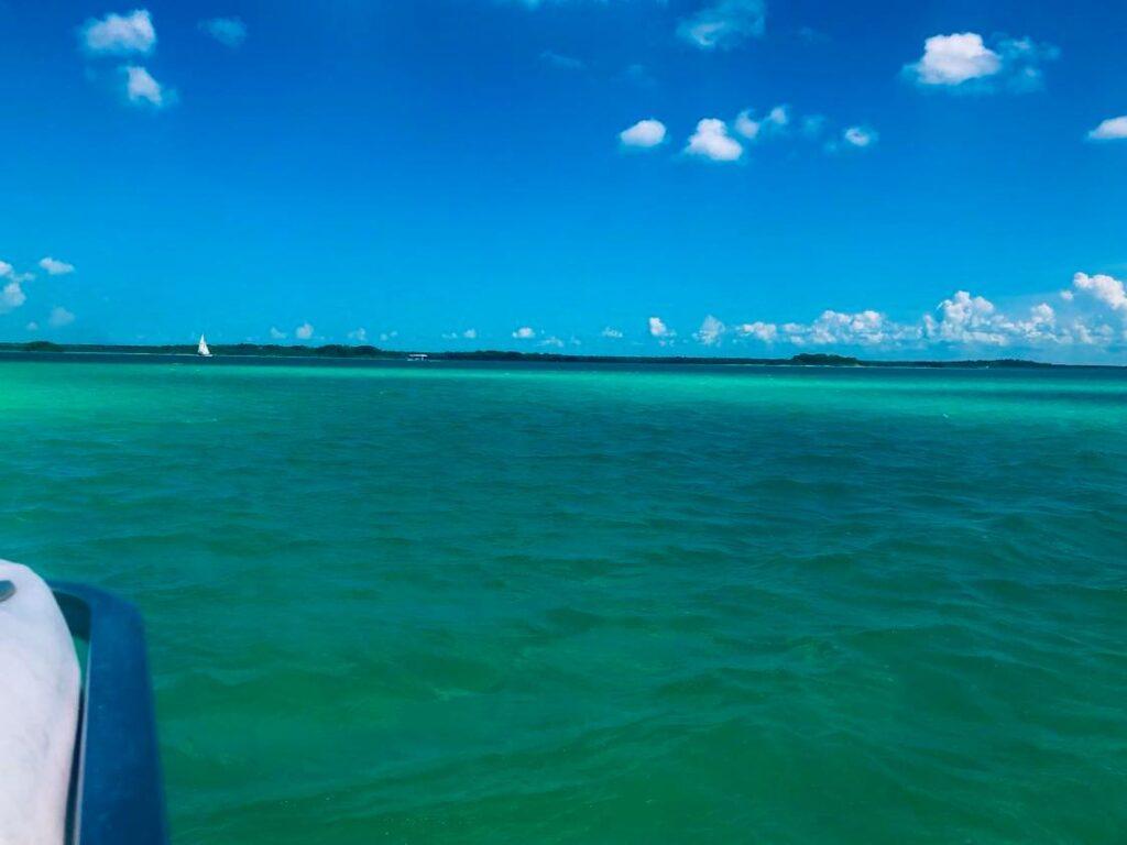 bacalar lake colors