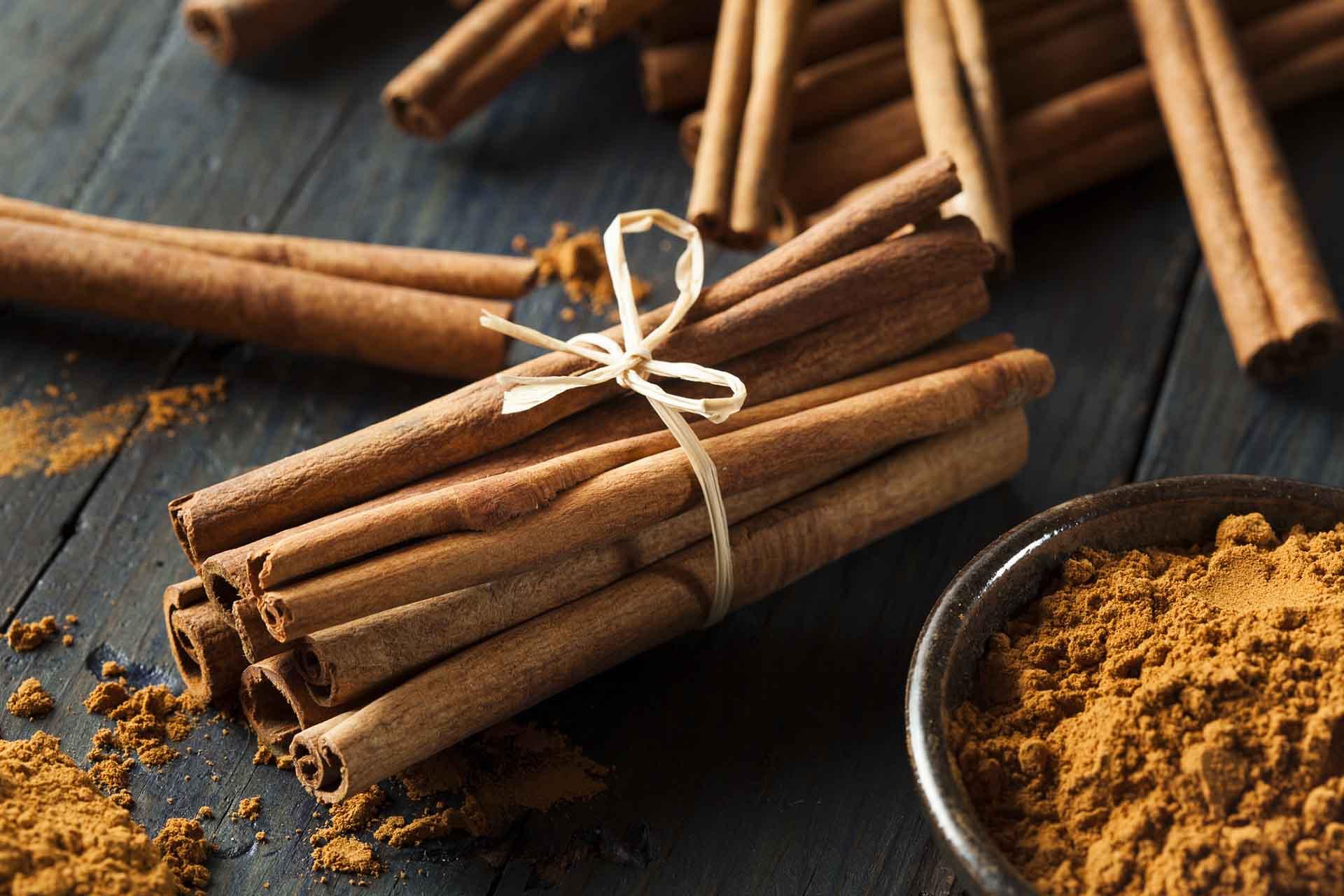 Organic Raw Brown Cinnamon.