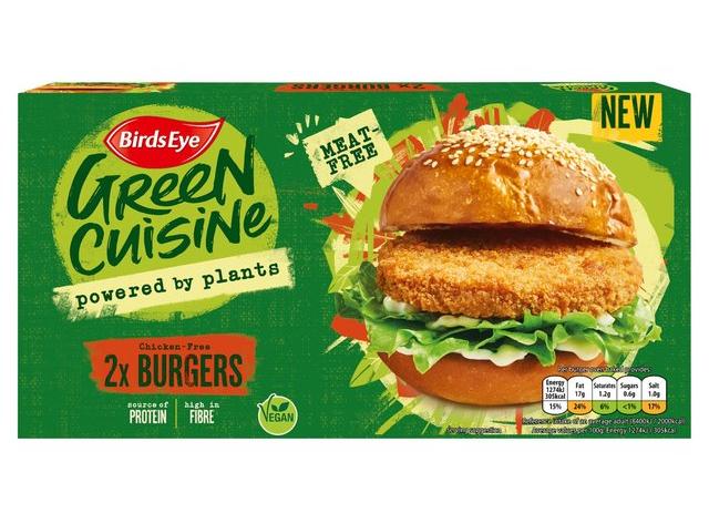 Green Cuisine Vegan Burgers