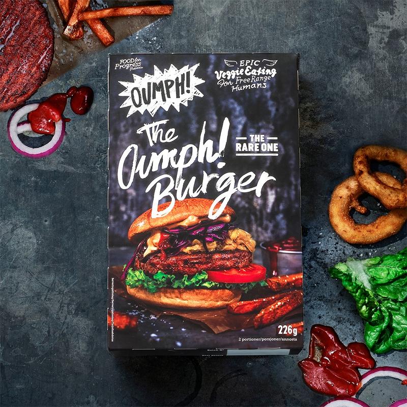 Oumph Vegan Burger
