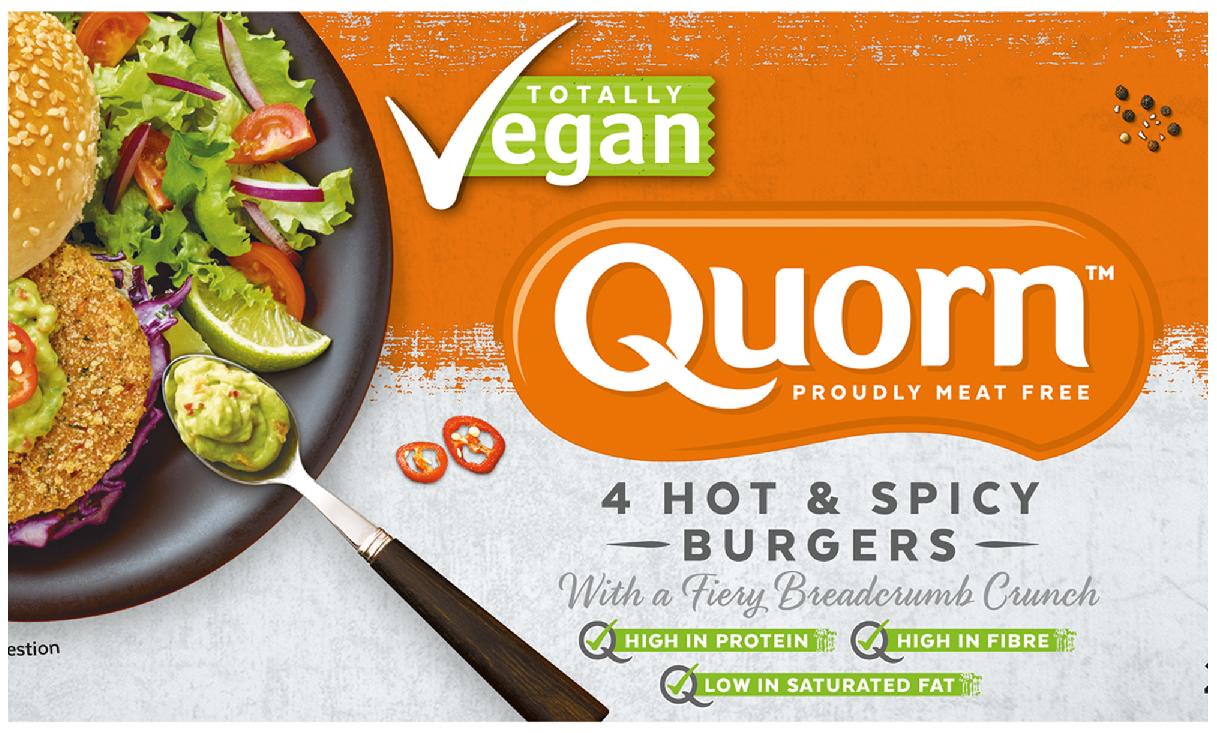 Vegan Quorn Burgers