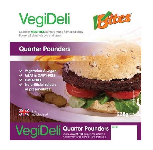 V Bites Burger