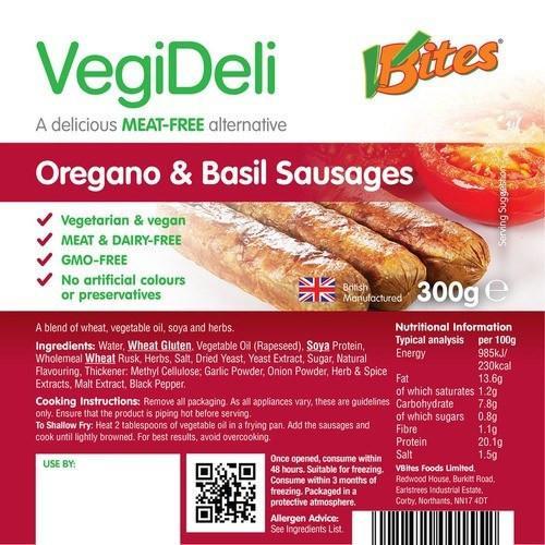 VBites Sausage