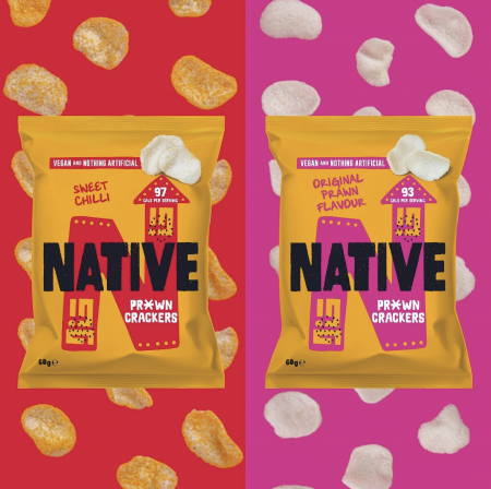 Native pr*wn crackers package