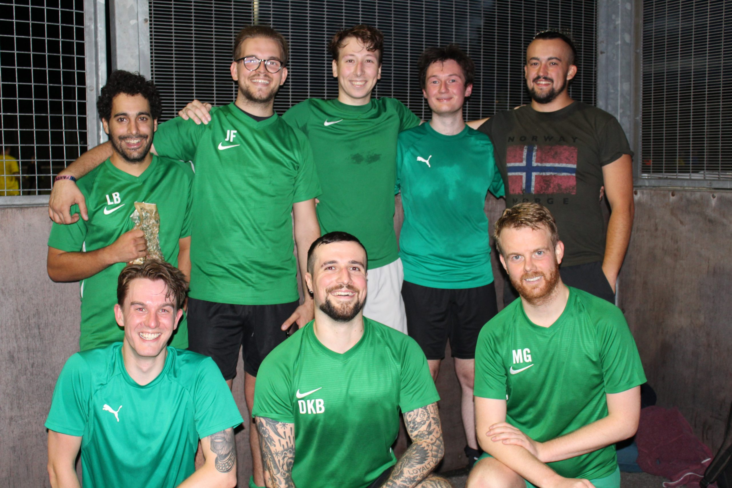Vegan football team Kale Madrid gain sponsorship 2