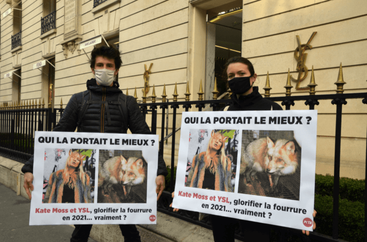 PETA Calls On Kate Moss To Stop Wearing 'Cruel' And 'Outdated' Fur