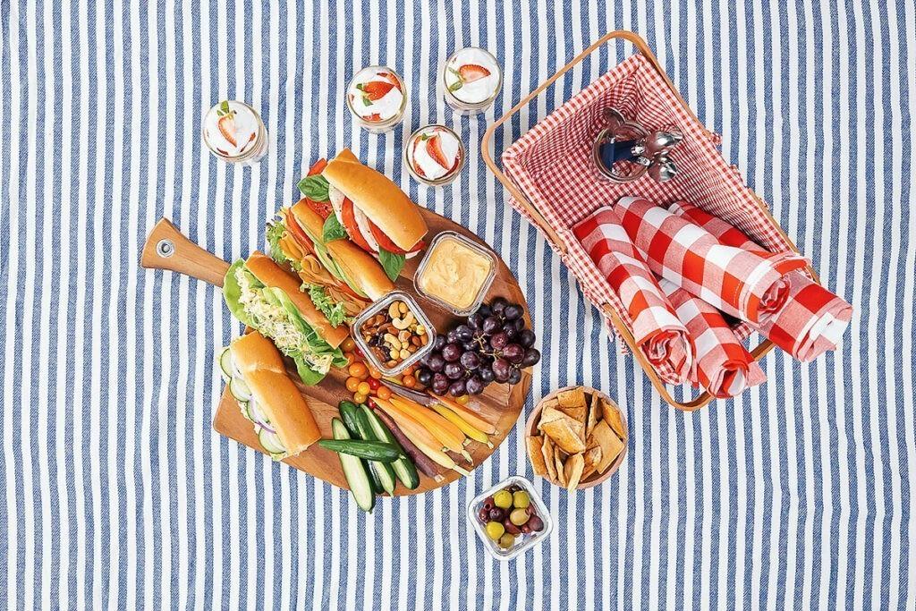 vegan sandwiches for picnic