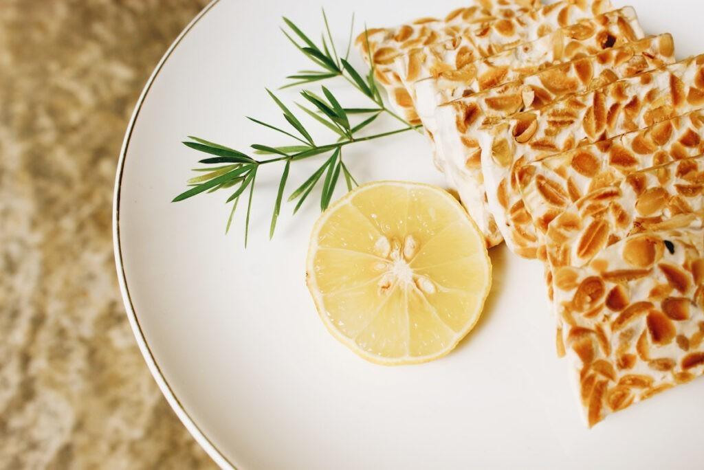 plate of foods rich in probiotics