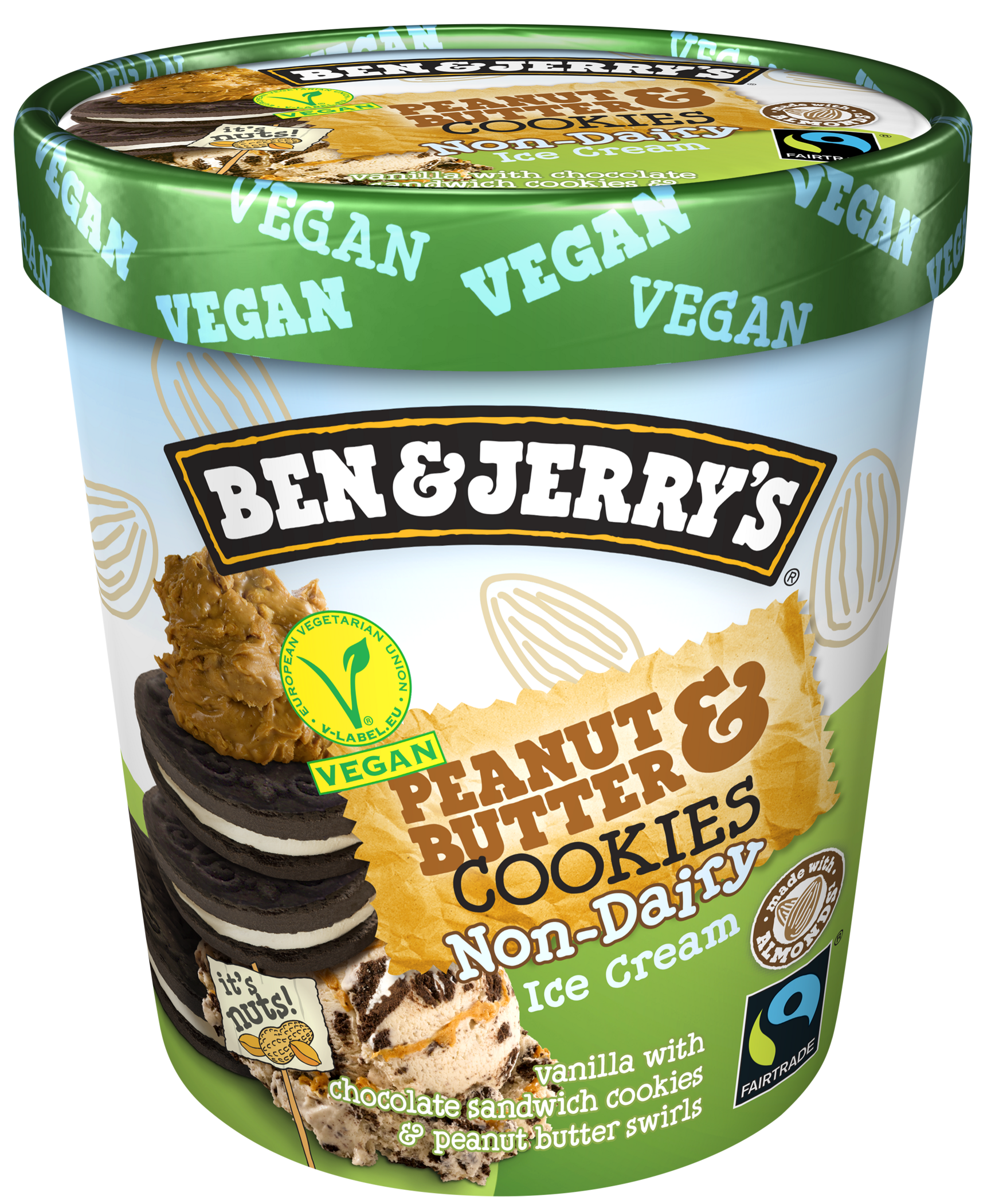 Ben & Jerry's Announce New Non-Dairy Salted Caramel Brownie Ice Cream 3