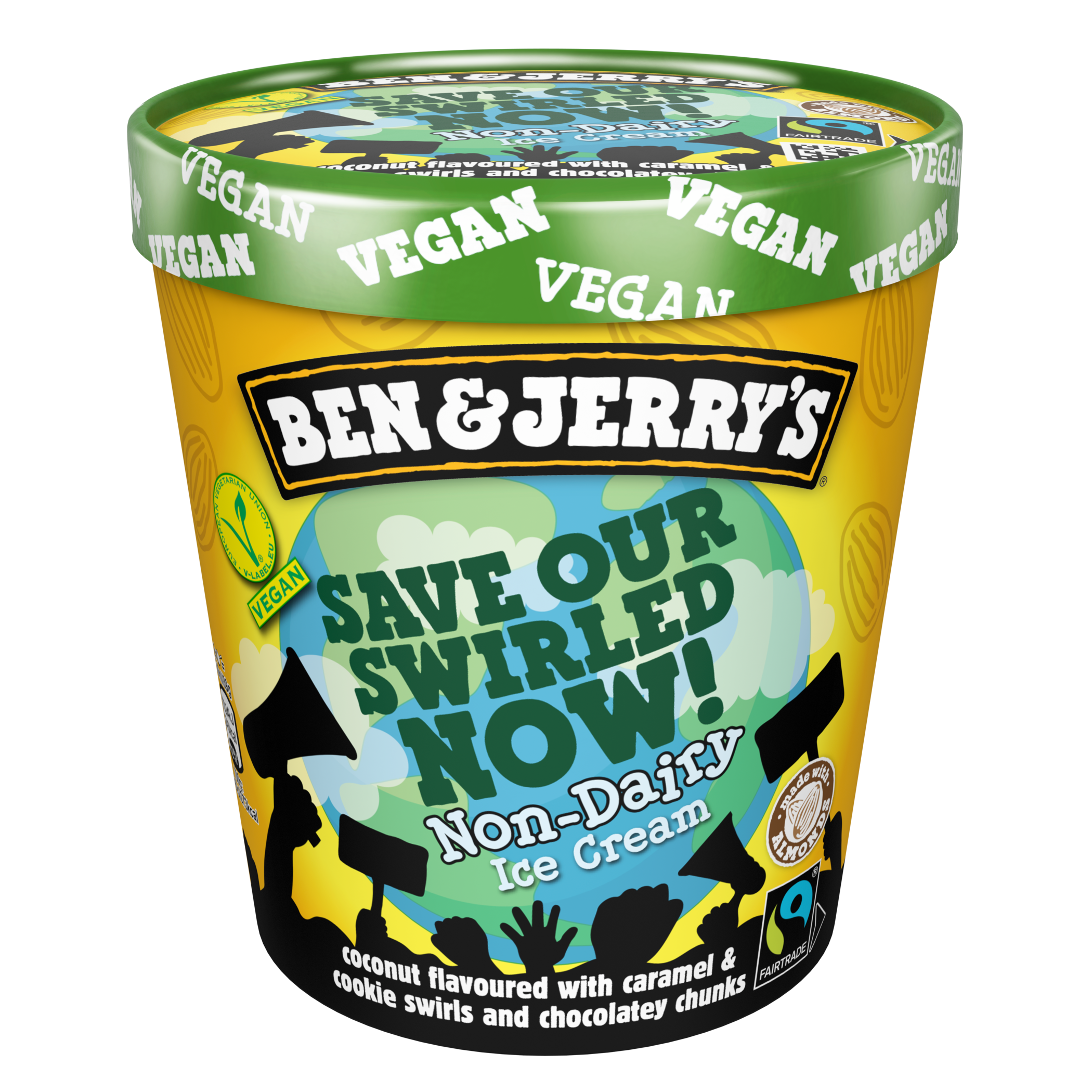 Ben & Jerry's Announce New Non-Dairy Salted Caramel Brownie Ice Cream 2