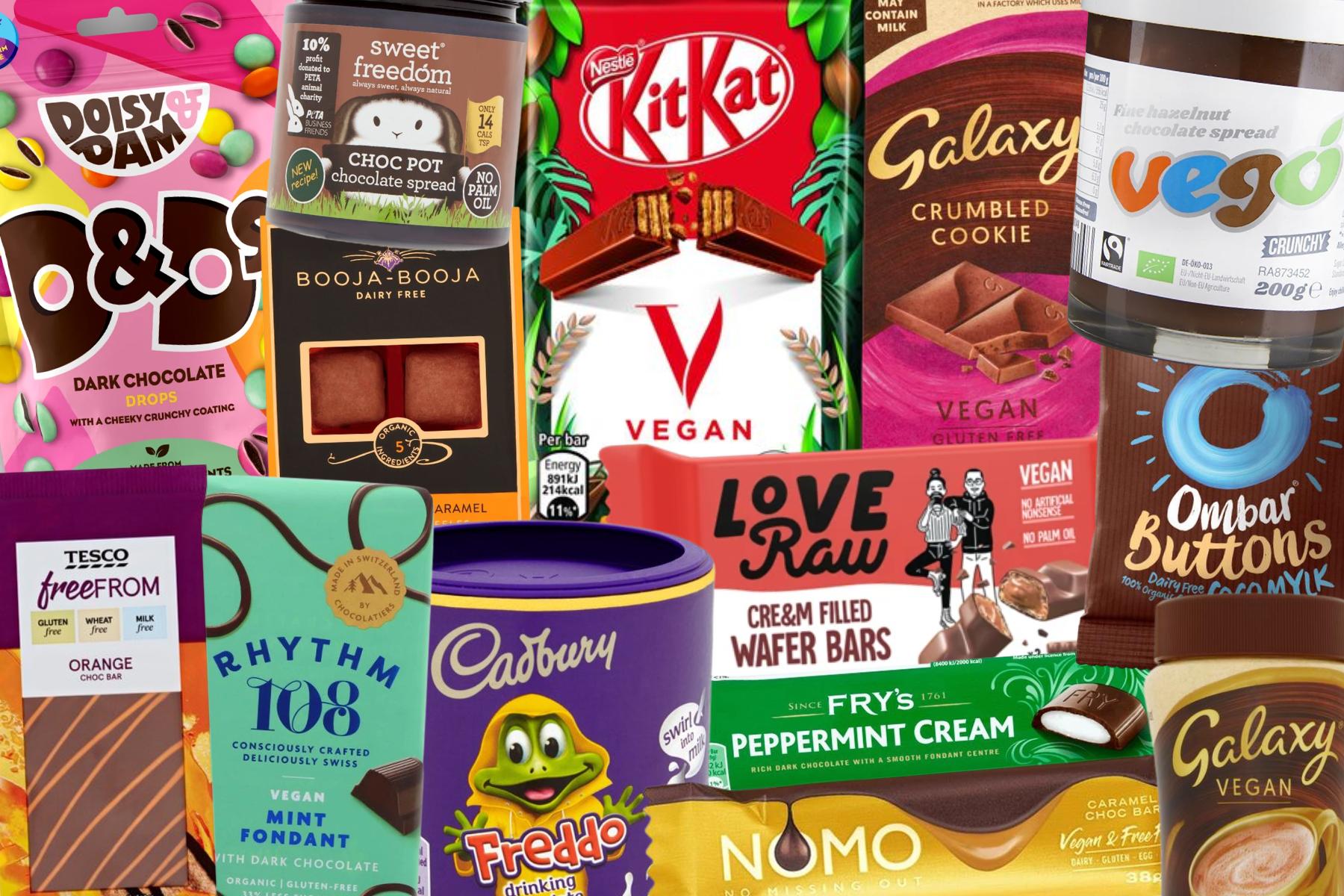 Guide to vegan chocolate