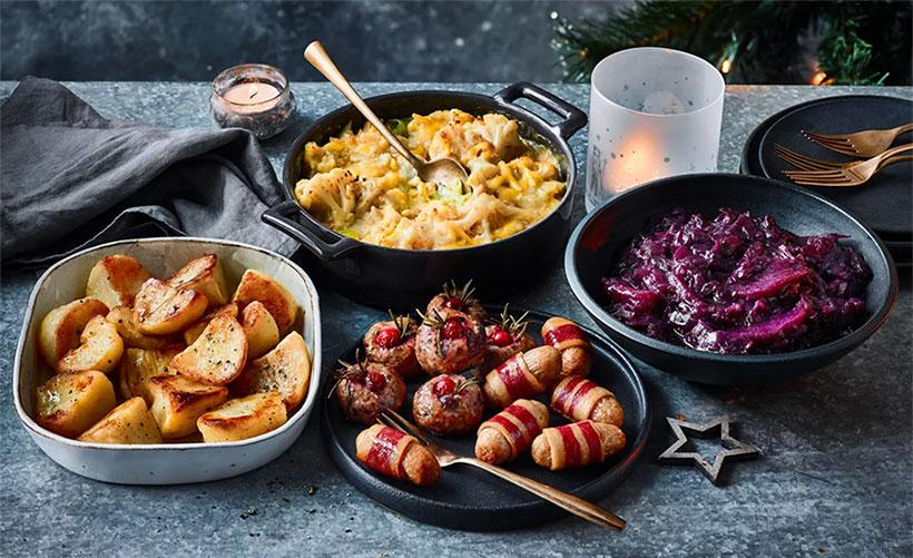 M&S vegan christmas selection box