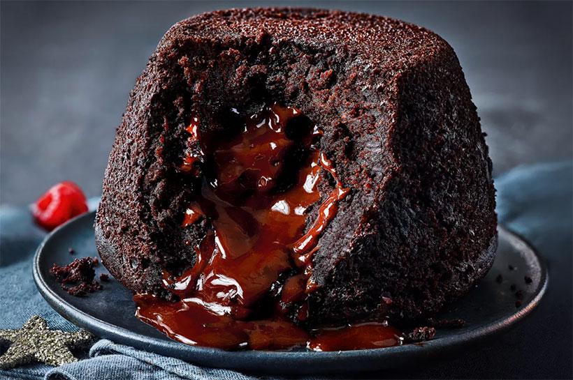 M&S vegan chocolate pudding