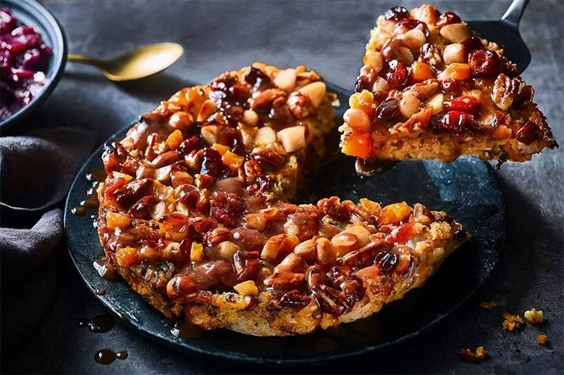 M&S vegan butternut almond pecan roast
