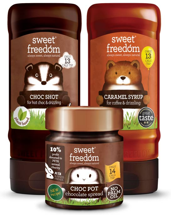 Sweet Freedom range