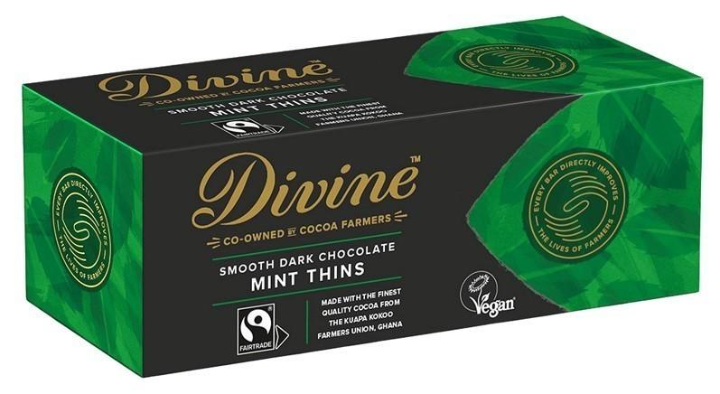 Divine chocolate thins