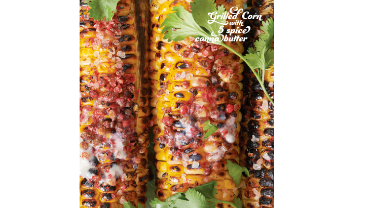 cannabis recipes infused corn