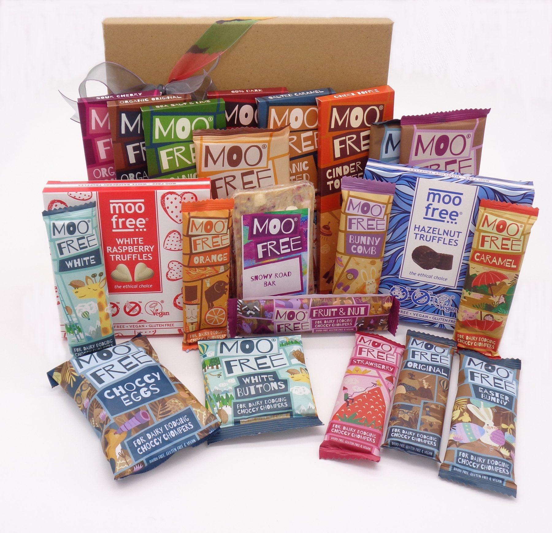 Moo Free chocolates