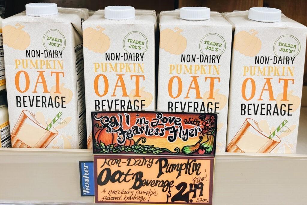Trader Joe's oat beverage